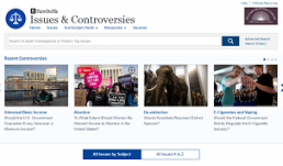 Issues & Controversies screenshot