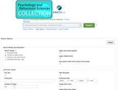 Psychology & Behavioral Sciences Collection screenshot